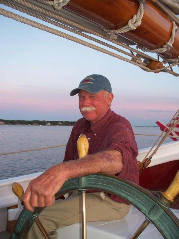 Captain John Foss Penobscot Bay 2002