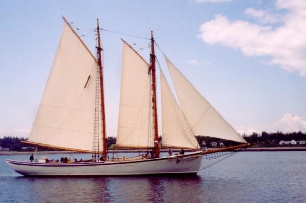 Schooner American Eagle - Rockland, Maine - Present Day