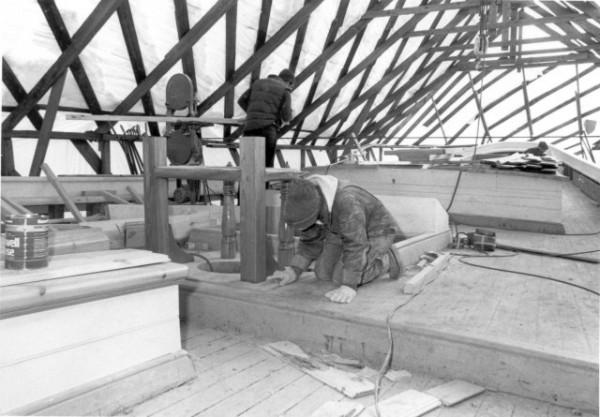 Schooner American Eagle - Rebuild 1984-86 Captain Foss