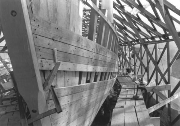 Schooner American Eagle - Rebuild 1984 Arrival Rockland Maine