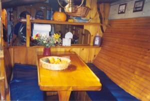 Schooner American Eagle dining quarters