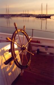 Schooner Wheel - Schooner American Eagle